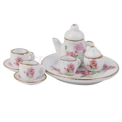 8pcs-Dollhouse-Miniature-Dining-Ware-Porcelain-Tea-Dish